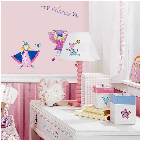 Wandsticker kleine Prinzessin Kinderzimmer