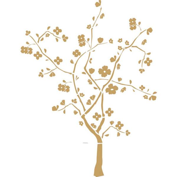 Wandtattoo Kirschbaum Kirschblüten