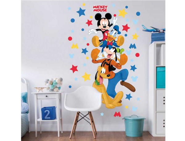 Wandsticker Disney Mickey Mouse Xtralarge