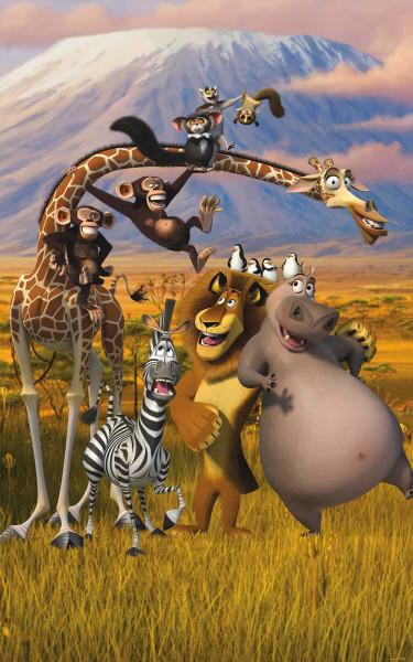 Fototapete Madagascar Poster Dreamworks
