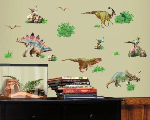 Wandsticker Dinosaurier Set Kinderzimmer