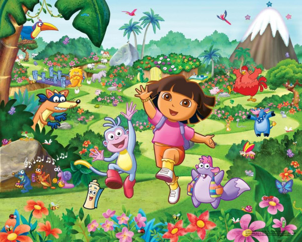 Fototapete Dora the Explorer