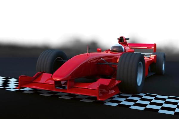 Vliestapete Formel 1 Bolide 375x250
