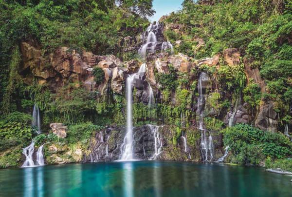 Vliestapete Fototapete Wasserfall Kaskaden