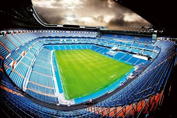 Vliestapete Fußballstadion 375x250