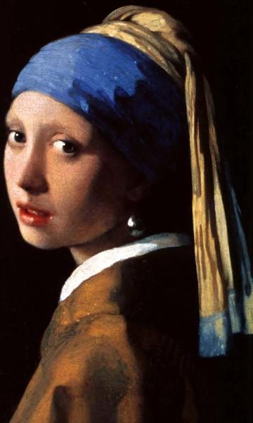 Vlies Fototapete Mädchen mit Perlenohrringen Johannes Vermeer 150x250