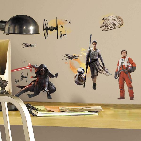 Wandsticker Star Wars Erwachen der Macht RoomMates Jugendzimmer