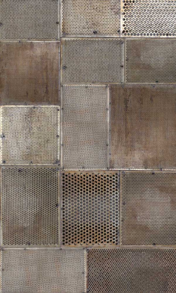 Vlies Fototapete rostiges Metall 150x250
