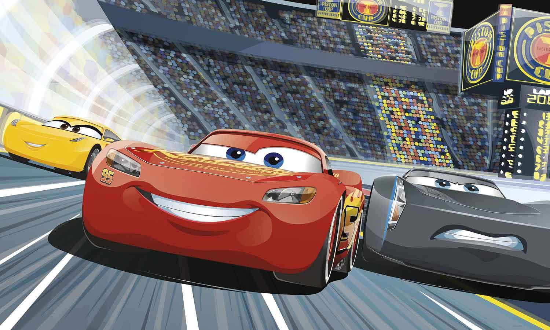 RoomMates Fototapete Disney Pixar Cars | tapetenwelt