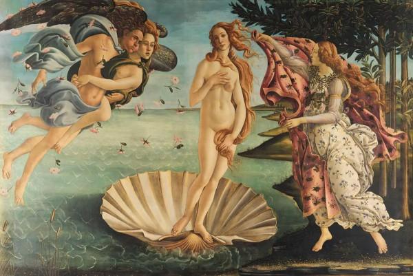 Vliestapete Geburt der Venus 375x250