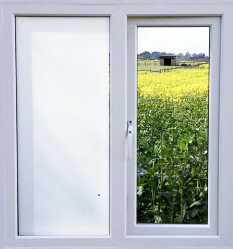 Fensterfolie selbstklebend hochglänzend weiß