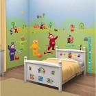 Babyzimmer Wandsticker Teletubbies