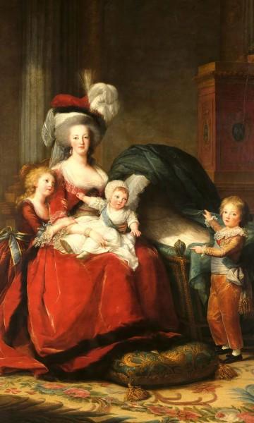 Vlies Fototapete Marie Antoinette Vigeé la Brun 150x250