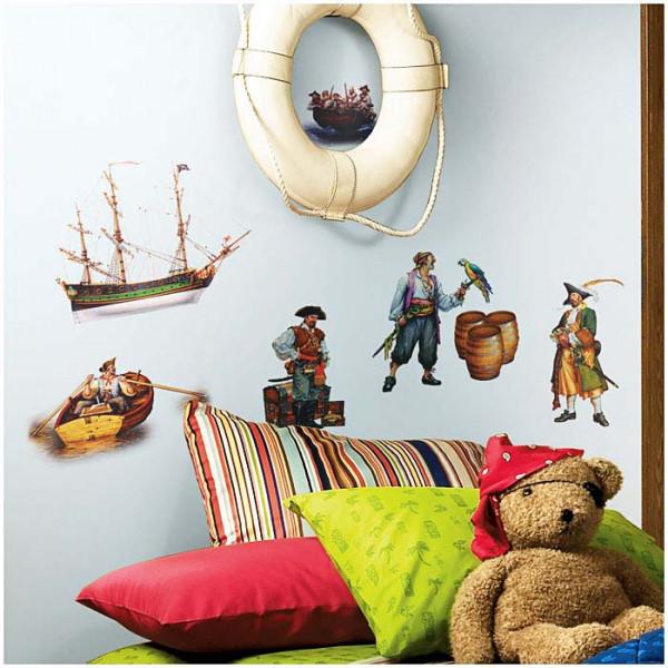 Wandsticker Piraten Jungenzimmer