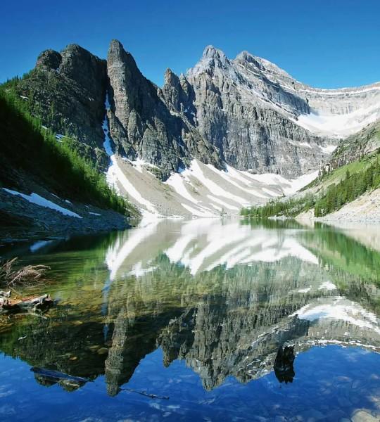 Vliestapete Lake Agnes Kanada 225x250