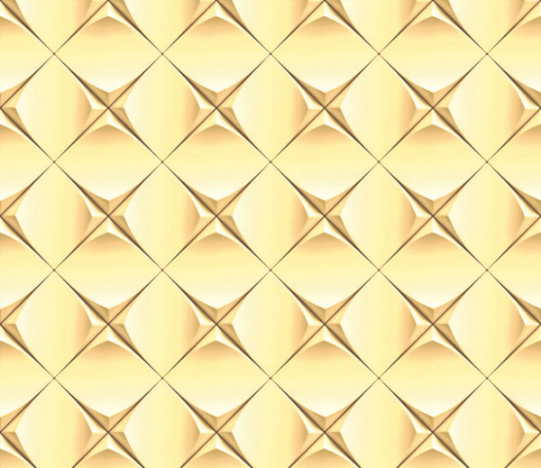 Vliestapete 3D-Optik Sterne gelb