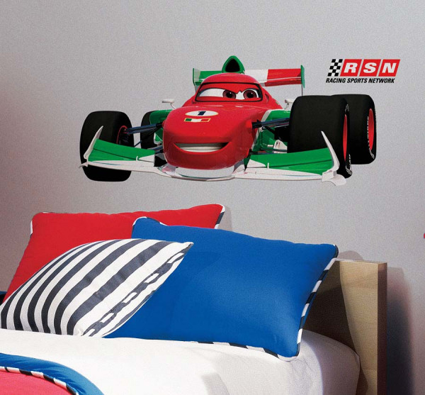 Wandsticker Disney Cars Francesco Bernoulli Kinderzimmer