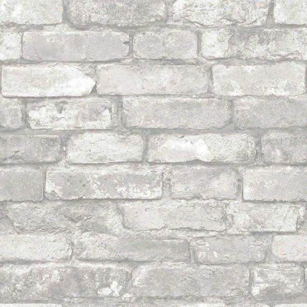 Selbstklebende Tapete Stein grau weiss