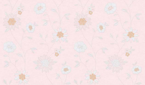 Selbstklebende Tapete Blütenmotiv