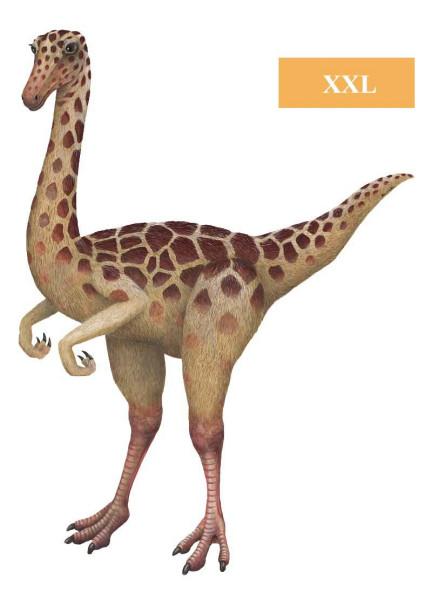 Wandsticker Dinosaurier Gallimus XXL Größe