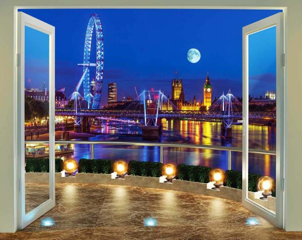 Fototapete skyline  Fototapete London Skyline Panorama | tapetenwelt