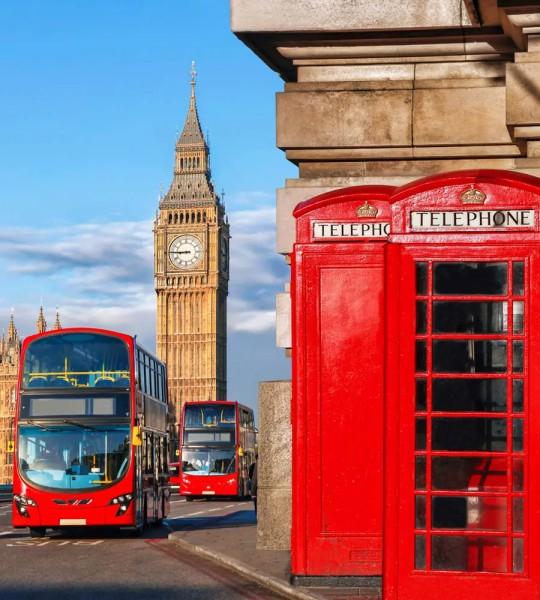 Vliestapete Glockenturm London 225x250