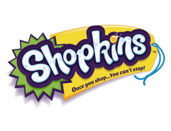 Walltastic Wandsticker Set Shopkins Logo