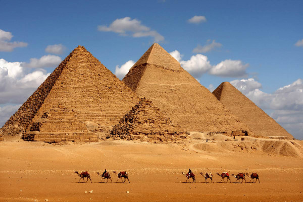 Vliestapete Pyramiden 375x250