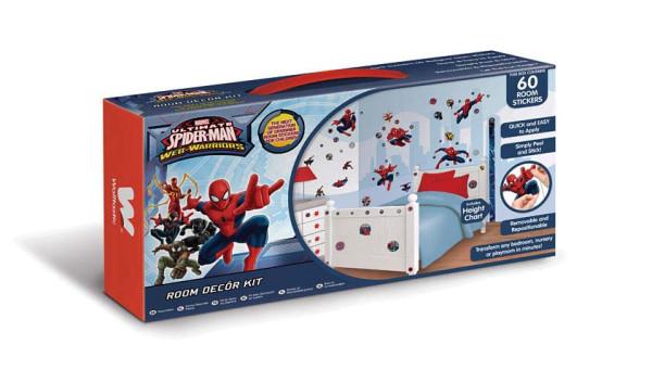 Wandsticker Ultimative Spiderman Dekokoffer
