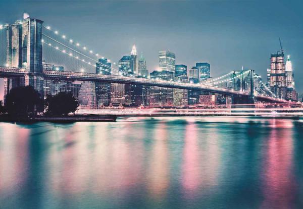 Fototapete Lichter der Großstadt