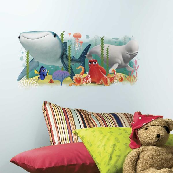 RoomMates Wandsticker Finding Dory Nemo Kinderzimmer