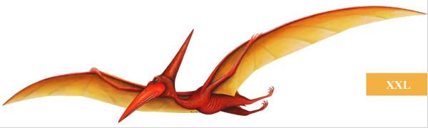 Wandsticker Flugsaurier Pterodactylus