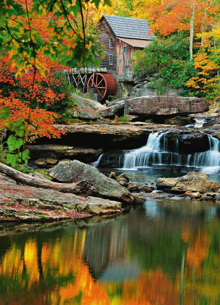 Fototapete Wandbild Alte Wassermühle