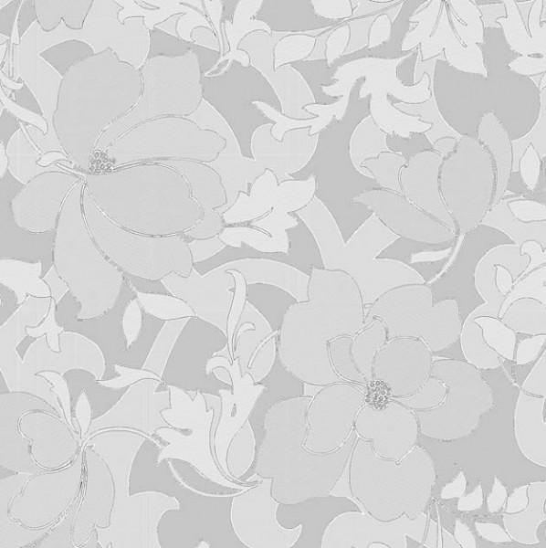 Fensterfolie Dekofolie Sichtschutz statisch Magnolie Silber