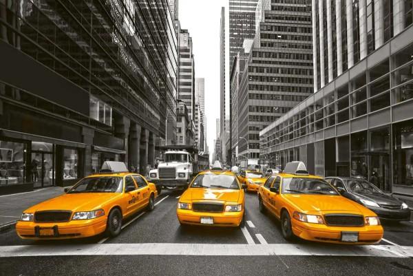 Vliestapete Yellow Taxi 375x250