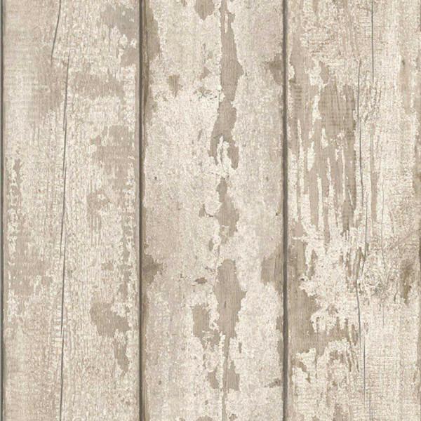 Tapete Treibholz ausgebleichtes Holz