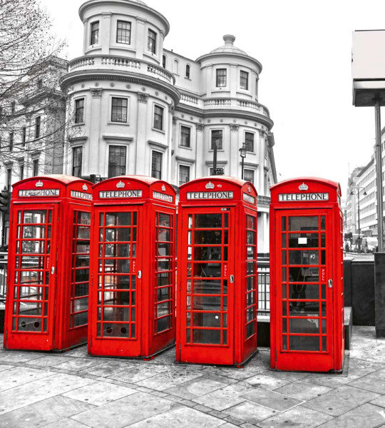 Vliestapete London Calling 225x250