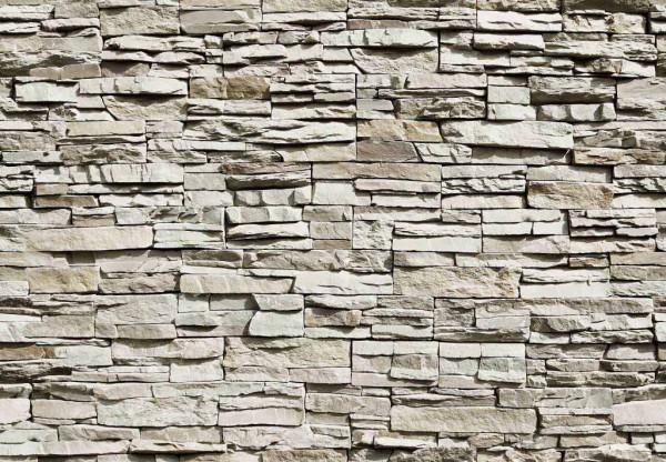 Fototapete graue Steinwand