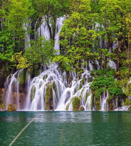 Vliestapete Plitvicer Seen Kroatien 225x250