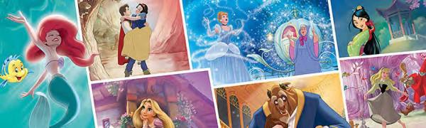 RoomMates Fototapete Disney Princess Storybook oberes Panel