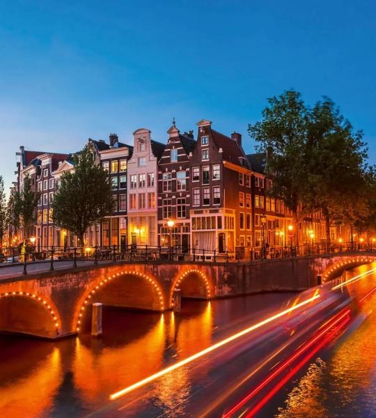 Vliestapete Amsterdam 225x250