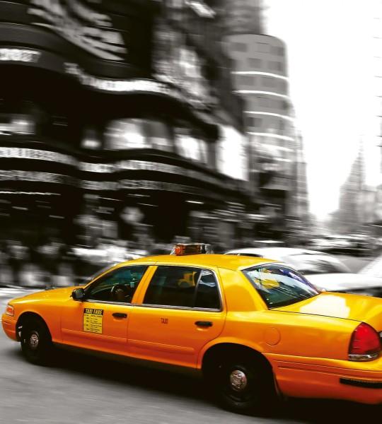 Vliestapete Taxi New York 225x250
