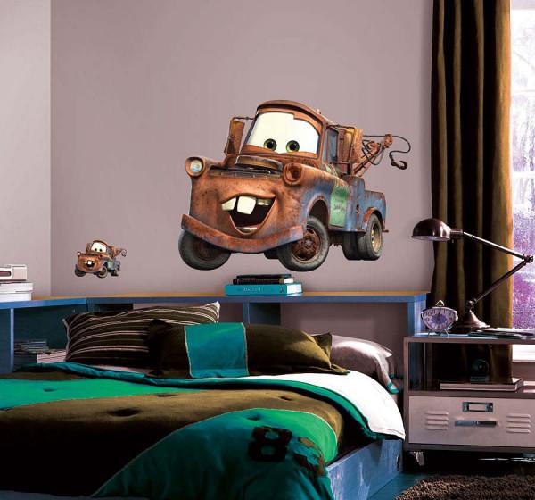 Wandsticker Disney Cars Abschleppwagen Mater