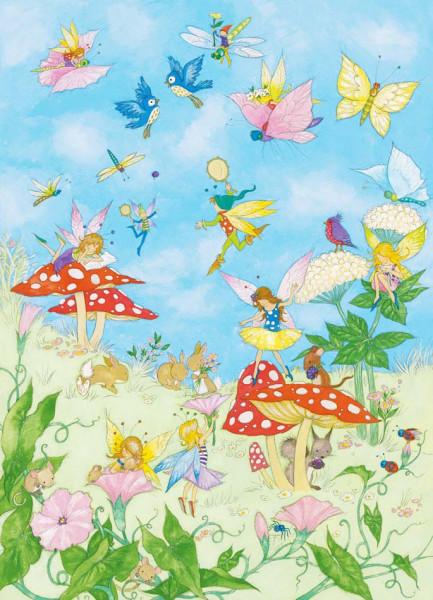 Fototapete Kinderzimmer | Fototapete Kinderzimmer Feen Marchen Tapetenwelt