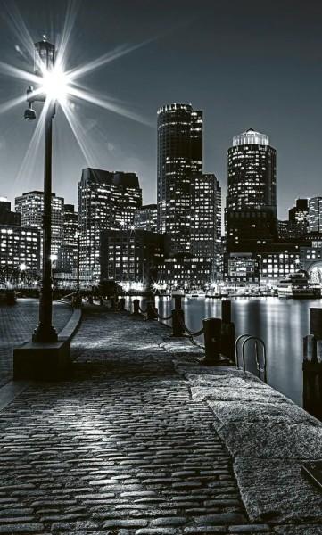 Vlies Fototapete Boston 150x250