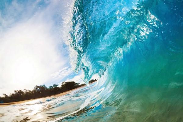 Vliestapete Meereswelle 375x250