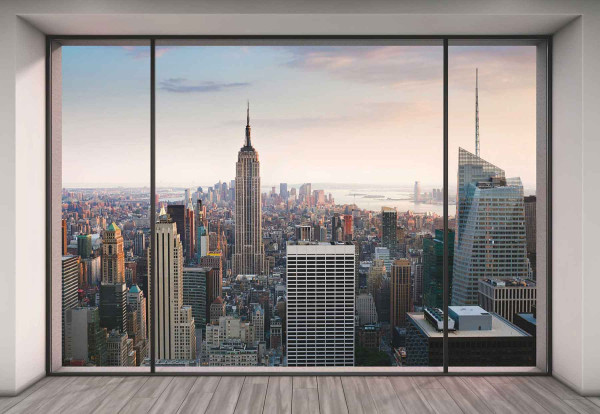 Vliestapete Fototapete Penthouse New York