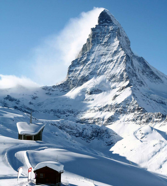 Vliestapete Matterhorn 225x250