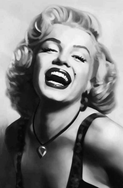 Wandbild Poster Marilyn Monroe