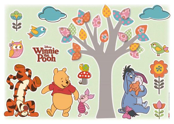 Wandsticker Winnie Pooh Naturliebhaber